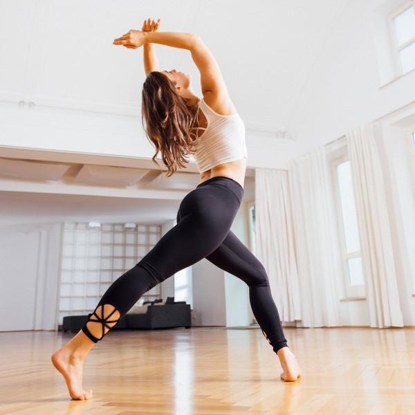 spider leggings black | yoga leggings | yoga kleidung