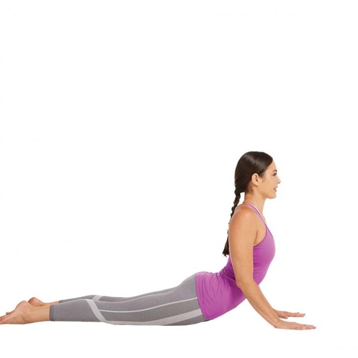 basic cobra pose exercise images