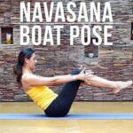 Basic Navasana Boat Pose Image