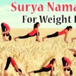 Basic Surya Namaskar Poses Step By Step Picture