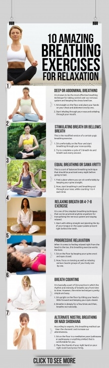 basic yoga exercises breathing photos