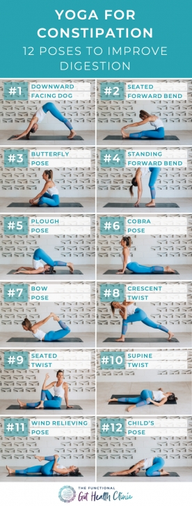 basic yoga exercises for constipation photo