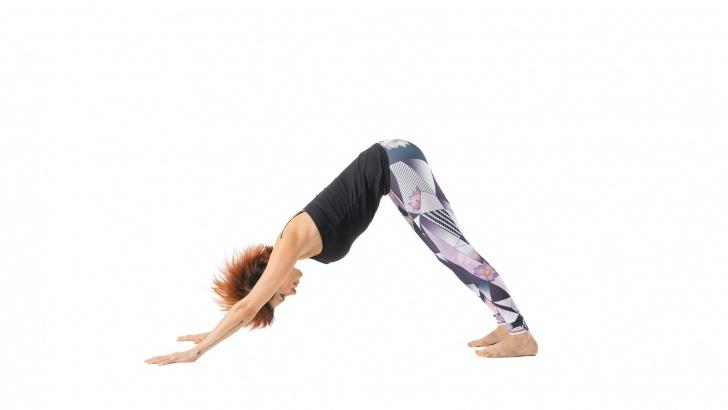 basic yoga moves downward dog pictures