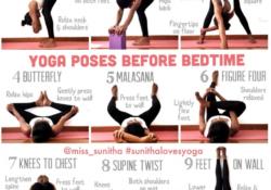 basic yoga poses before bed image