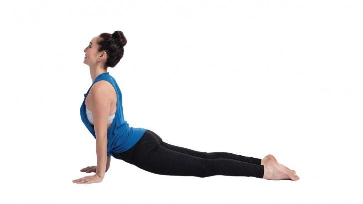 basic yoga poses benefits of upward facing dog image