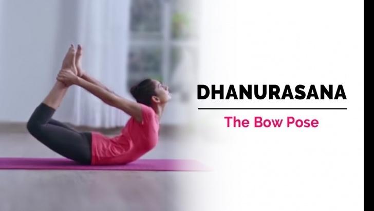 basic yoga poses dhanurasana ke fayde picture