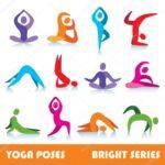 Basic Yoga Poses Logo Photo