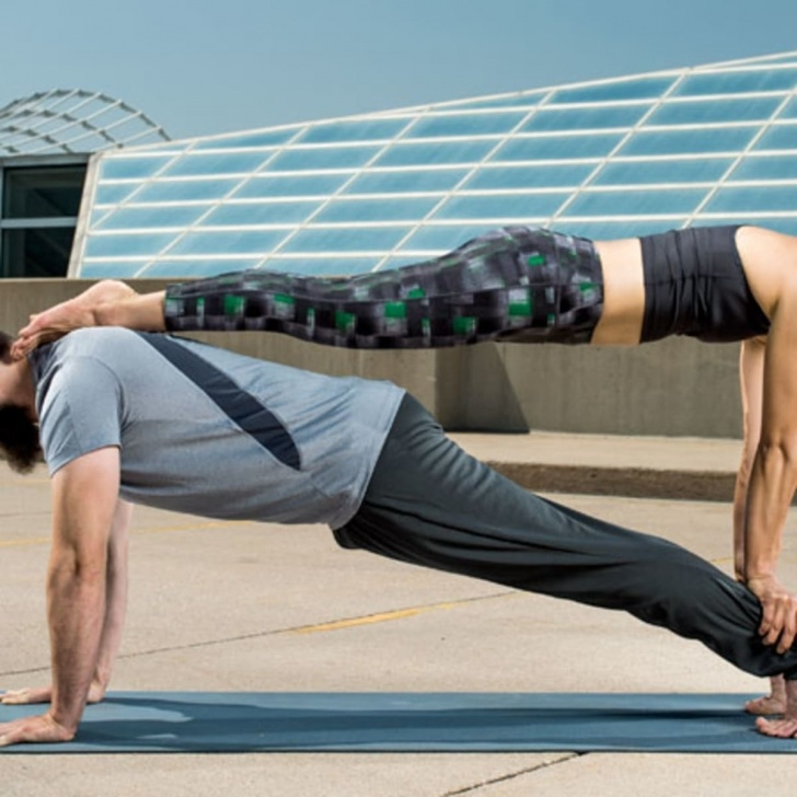 best 2 person yoga poses for beginners photos