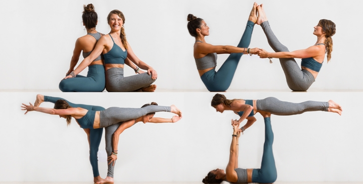 best cool partner yoga poses image