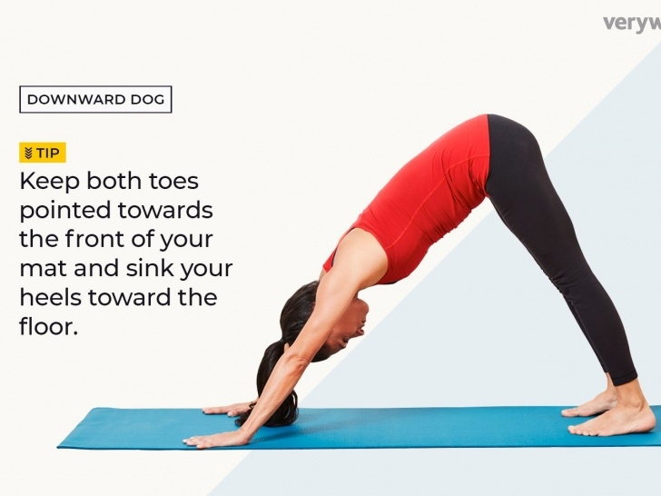best downward facing dog pose benefits images