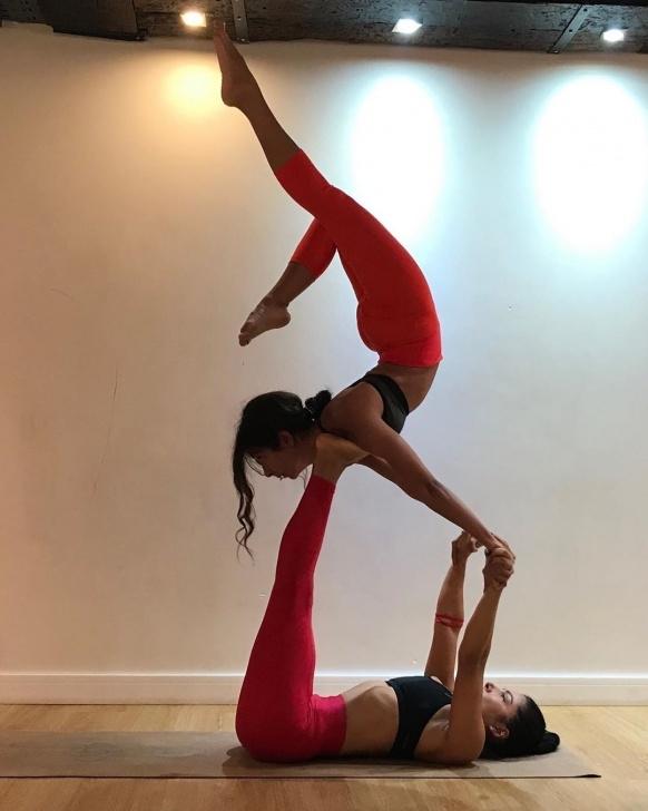 best partner yoga poses challenge image