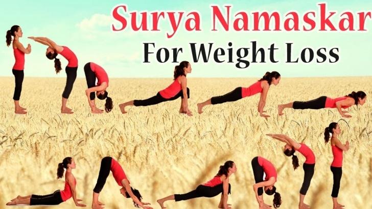 best surya namaskar yoga steps photo