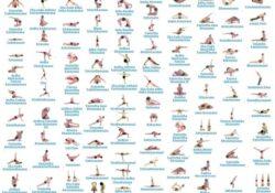 best yoga asanas names in english photos
