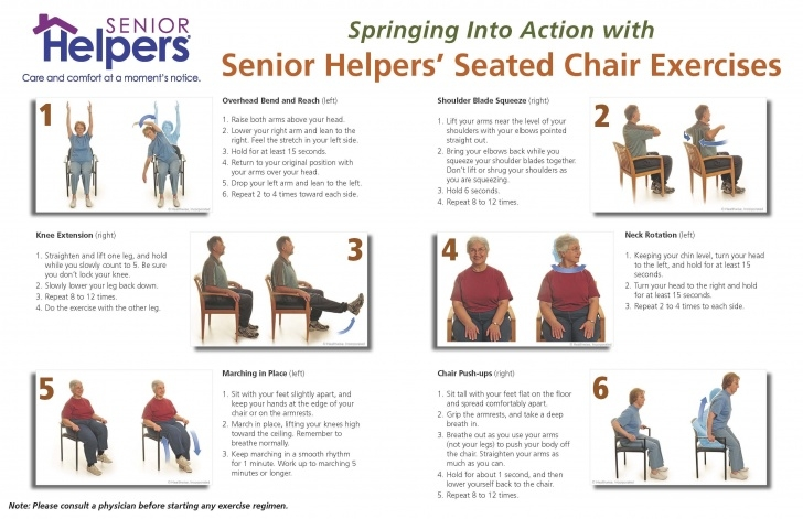 best yoga exercises for seniors pictures