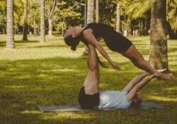 best yoga moves with a partner photo