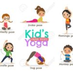 Best Yoga Poses Cartoon Picture