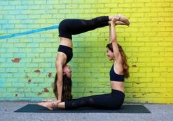 best yoga poses for 2 friends image