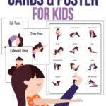 Best Yoga Poses For Kids Printable Image