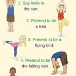 Best Yoga Poses For Kids Printable Pictures