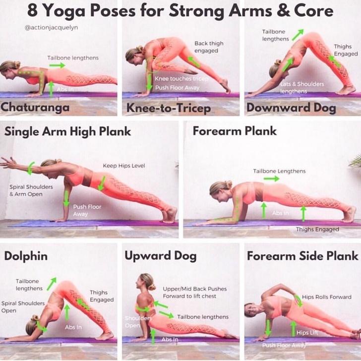 best yoga poses for upper body photo