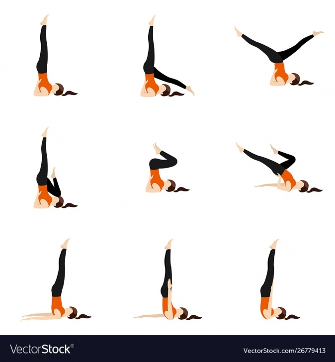 best yoga poses shoulder stand variations photo