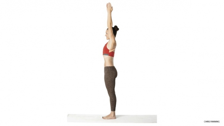 best yoga poses tadasana urdhva hastasana pictures