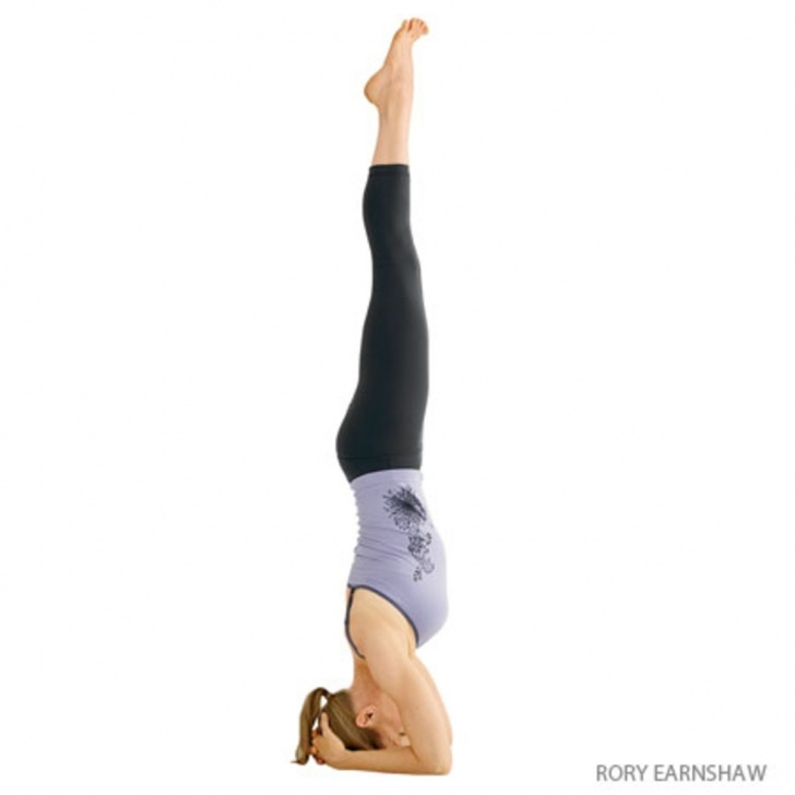 best yoga poses upside down image
