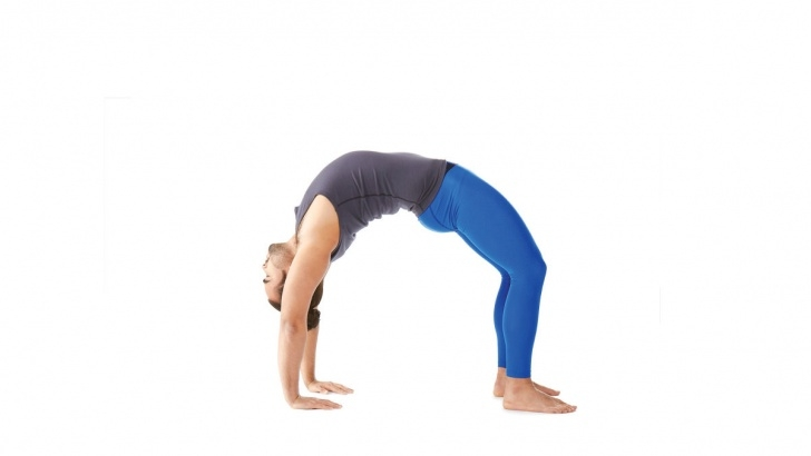 best yoga poses urdhva dhanurasana benefits image