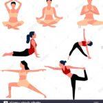 Best Yoga Poses Vector Photo