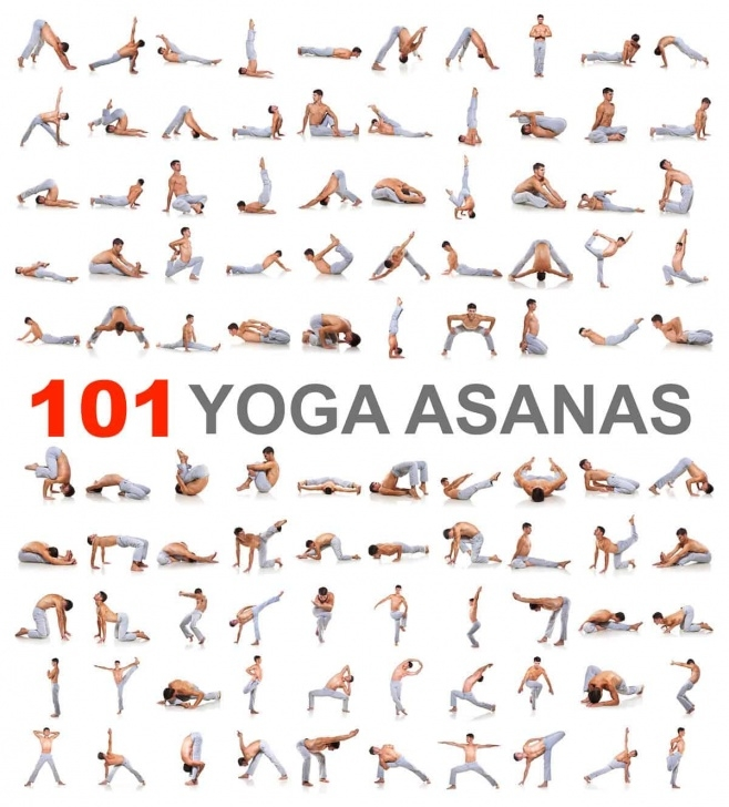 best yoga positions chart photos