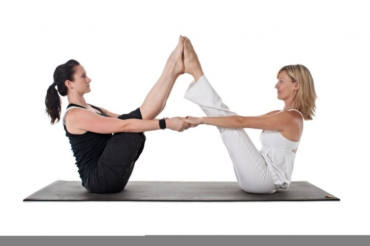 easy 2 person yoga poses medium image