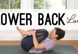 easy back pain in yoga picture
