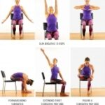 Easy Chair Yoga Poses For Seniors Images