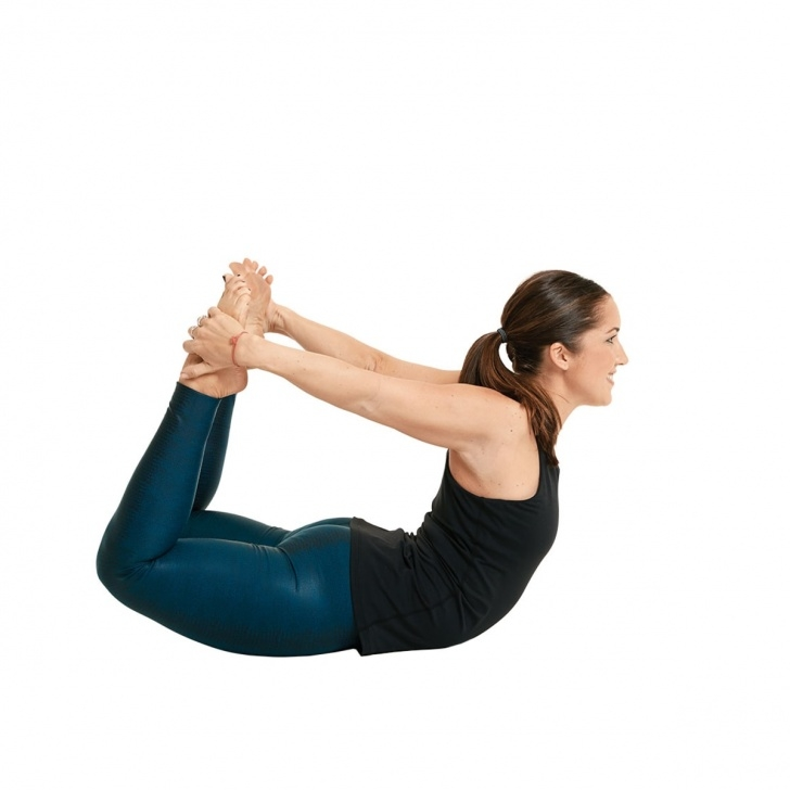 easy dhanurasana bow pose picture