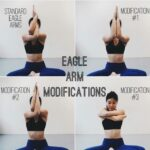 Easy Eagle Pose Sequence Photo