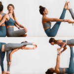 Easy Partner Yoga Poses Challenge Pictures
