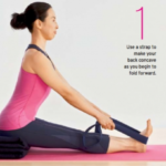 Easy Paschimottanasana Yoga Pose Photos