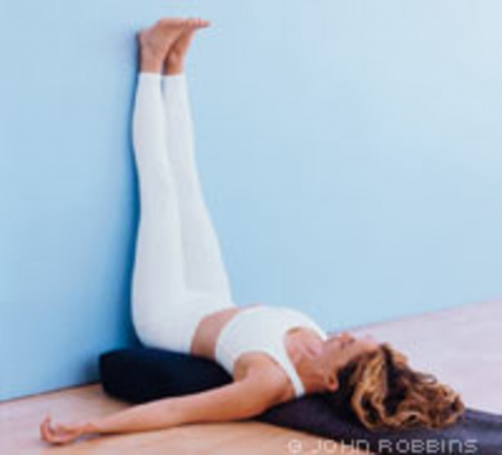 easy viparita karani yoga picture