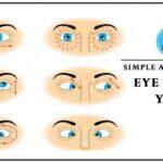 Easy Yoga Eye Exercises Pictures