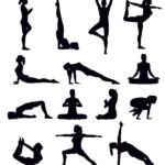 Easy Yoga Poses Clipart Pictures
