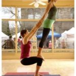 Easy Yoga Poses For Two People Photos