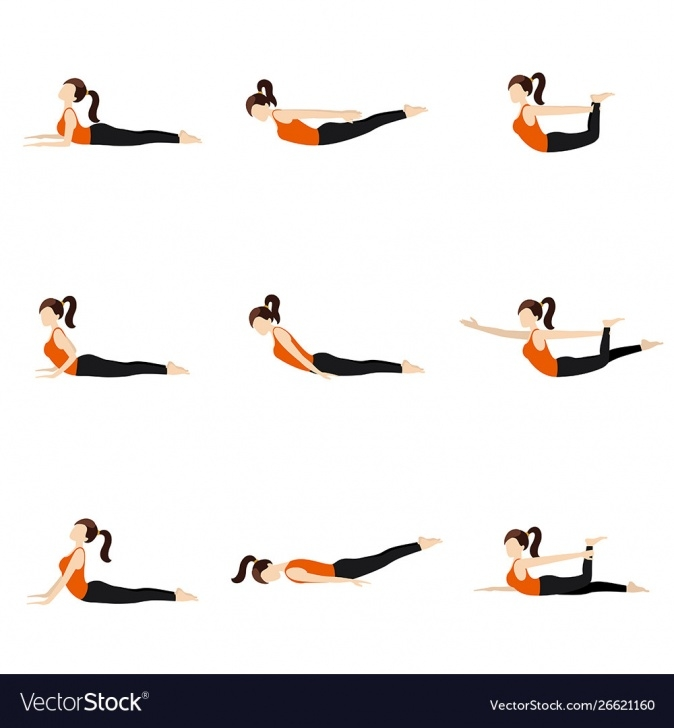 easy yoga poses lying on stomach photo