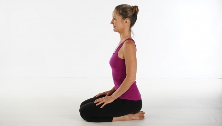 easy yoga poses relaxing image