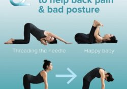 easy yoga positions back picture