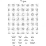 Essential Yoga Poses Crossword Image