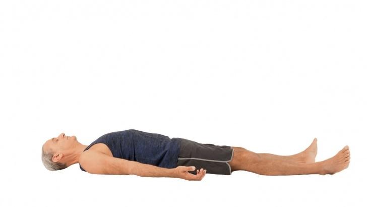 essential yoga poses savasana in english photo