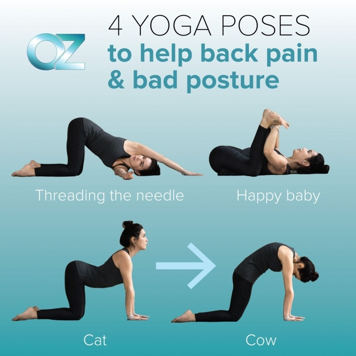 essential yoga positions for back pain photo