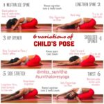 Fun And Easy Child's Pose Yoga Picture