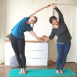 Fun And Easy Yoga Poses For 2 Photo
