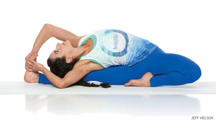 fun and easy yoga poses janu sirsasana variations image